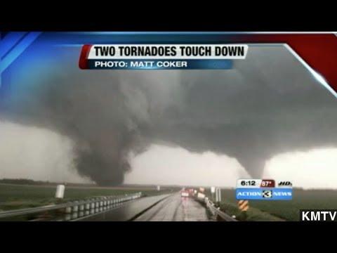 Deadly Twin Tornadoes Rip Through Nebraska Town