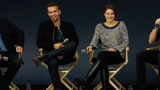 Shailene Woodley and Theo James: Divergent Interview