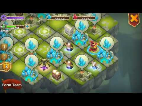 Level 20 In Lost Realm + Upgrading Blue Crystal Mines!!!!