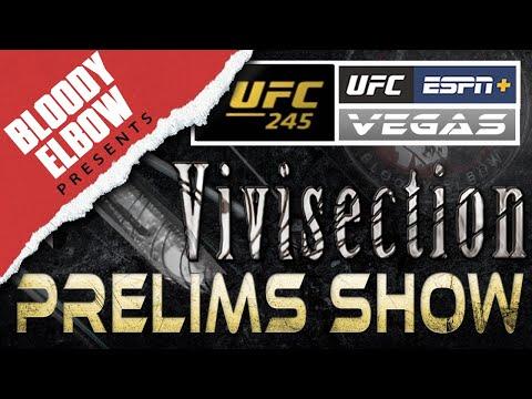 UFC 245 - USMAN VS COVINGTON Prelims Picks, Odds & Analysis - The MMA Vivisection