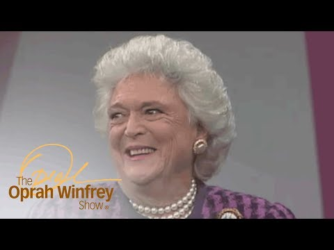 Barbara Bushs First Impression of George H.W. Bush | The Oprah Winfrey Show | Oprah Winfrey Network