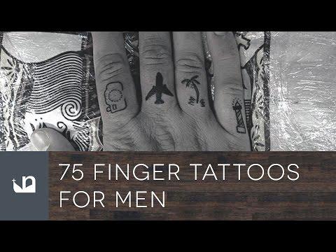 75 Finger Tattoos For Men