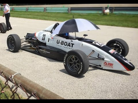 SCCA Formula F June Sprints 2016 Race 1 - Andy Melvin