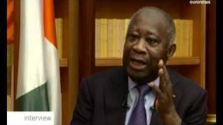 EXCLUSIF - Laurent Gbagbo s'explique sur euronews