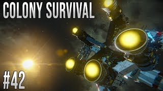 Space Engineers - Colony Survival Ep #42 - Upgrading the Station!