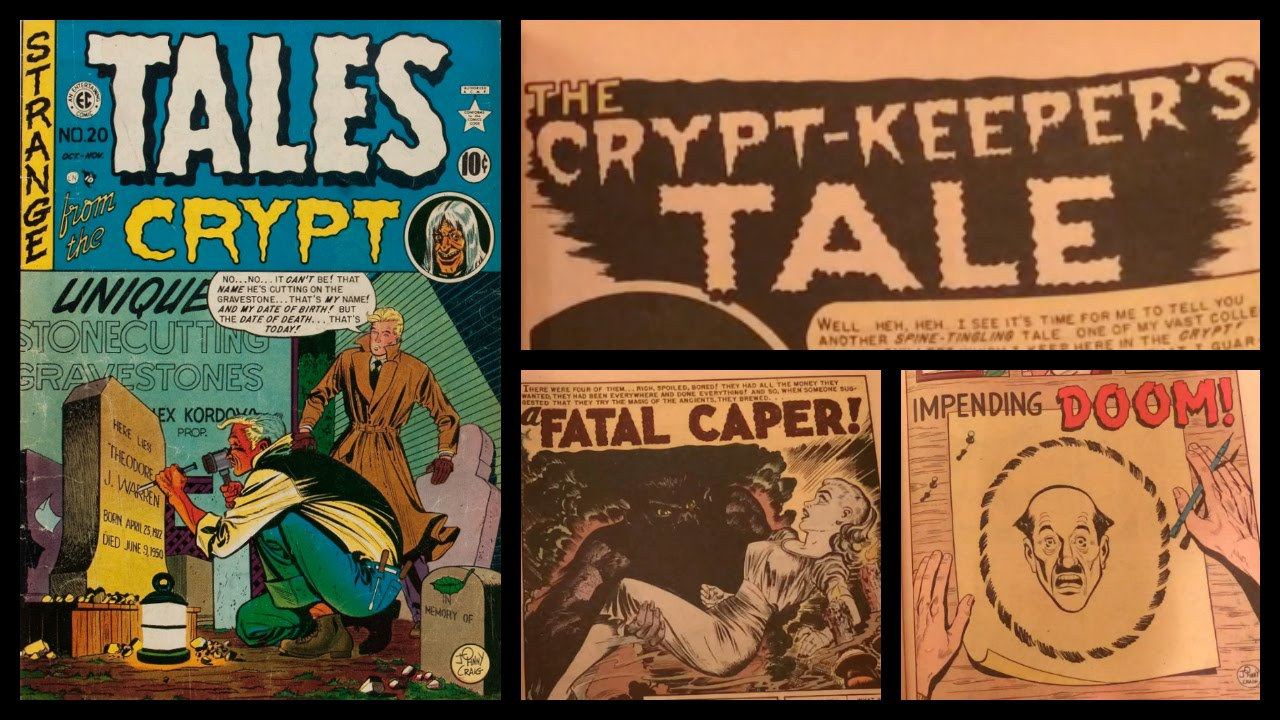 Tales From The Crypt 20 Story And Page Count