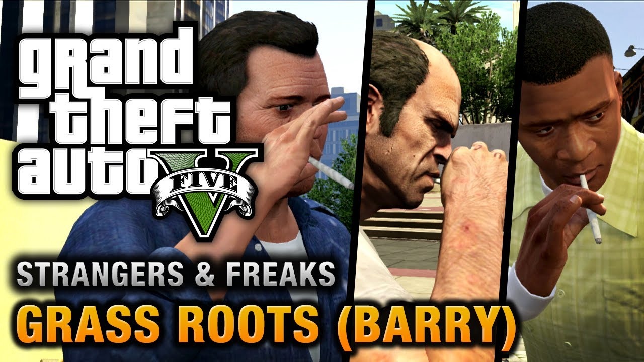 Gta 5 Barry Grass Roots 100 Gold Medal Walkthrough Youtube