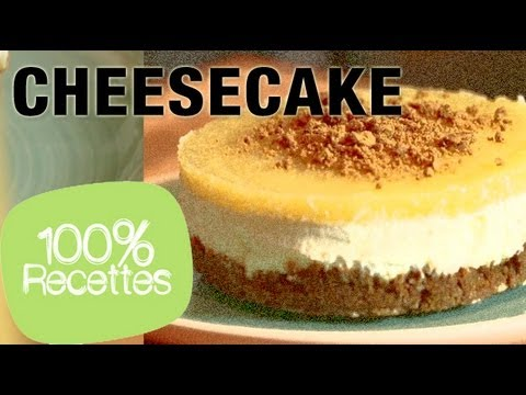 100% recettes - cheesecake sans cuisson - youtube
