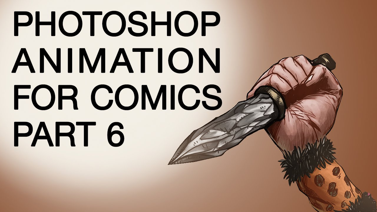 Part 6  3d Animation In Photoshop Foric Book Artists Damian Wampler