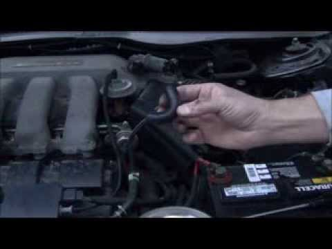 PVC Valve replacement Taurus or Sable with V6 Duratec Engine - YouTube