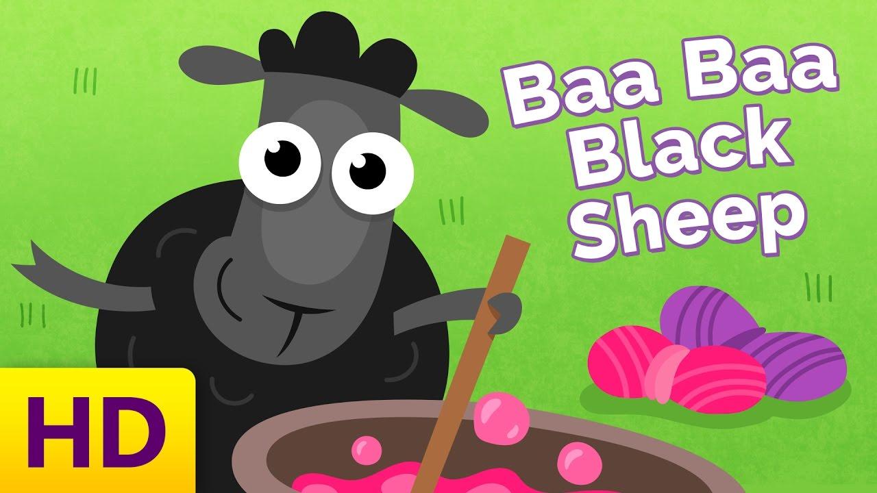 Baa Baa Black Sheep - Children's Song with Lyrics ...