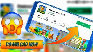 POKEMON LET'S GO UNITY NEW GAME EARLY ACCESS MOBILE GAME DOWNLOAD NOW