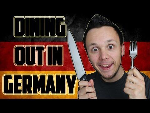 Dining Out in Germany - Auswärts Essen in Deutschland | German Culture