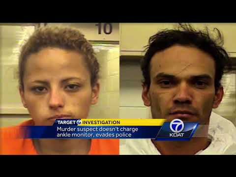 Albuquerque murder suspect re-arrested for not charging ankle monitor