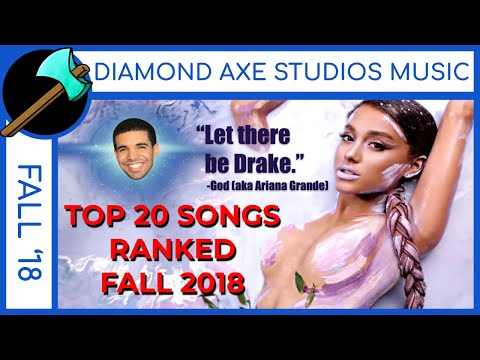 FALL 2018: Billboard Top 20 Pop Songs- Ranked WORST to BEST (Drake, Eminem, Kanye West) Mp3