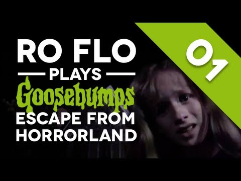 RO FLO PLAYS: Goosebumps: Escape from HorrorLand - Part 1 (Let's Play / Playthrough)