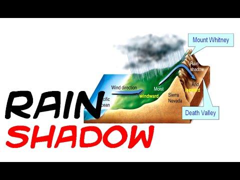 Rain Shadow effect