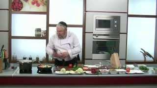 Вебинар Уриэля Штерна: как приготовить праздничный ужин за 60 минут