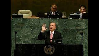 """Cumhurbaşkanı Erdoğan'dan """"Dünya 5'ten büyüktür"""" mesajı"""