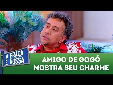 Amigo de Gogó mostra seu charme | A Praça é Nossa (16/08/18)