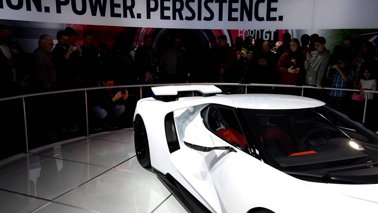 Ford Gt Spoiler Suspension Demo