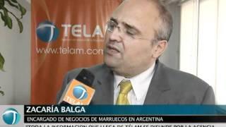 Marruecos estrecha lazos con la agencia Télam