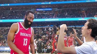SHOWING JAMES HARDEN MY KEVIN DURANT DISS TRACK!! NOT CLICKBAIT thumbnail