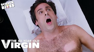 40Yr Old Virgin - Steve Carell, Paul Rudd, Seth Rogan Chestwax OFFICIAL HD VIDEO
