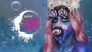 Top 10 Awards - UNDERWATER CREATURES: Lana Del Octopus- NYX FACE AWARDS POLSKA- TOP 10