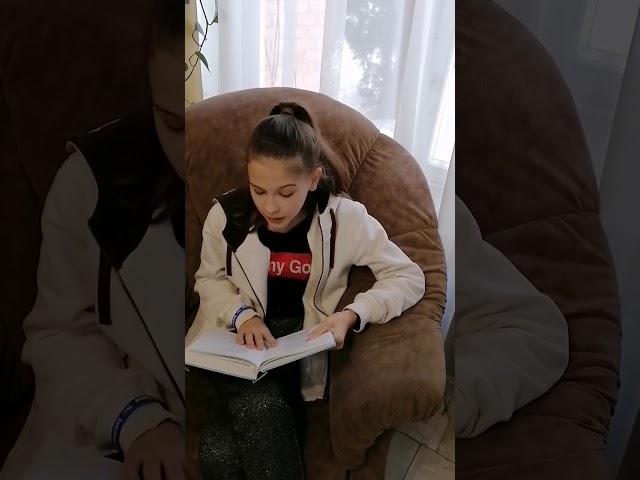 Классова Алина читает произведение «В Крымских степях» (Бунин Иван Алексеевич)