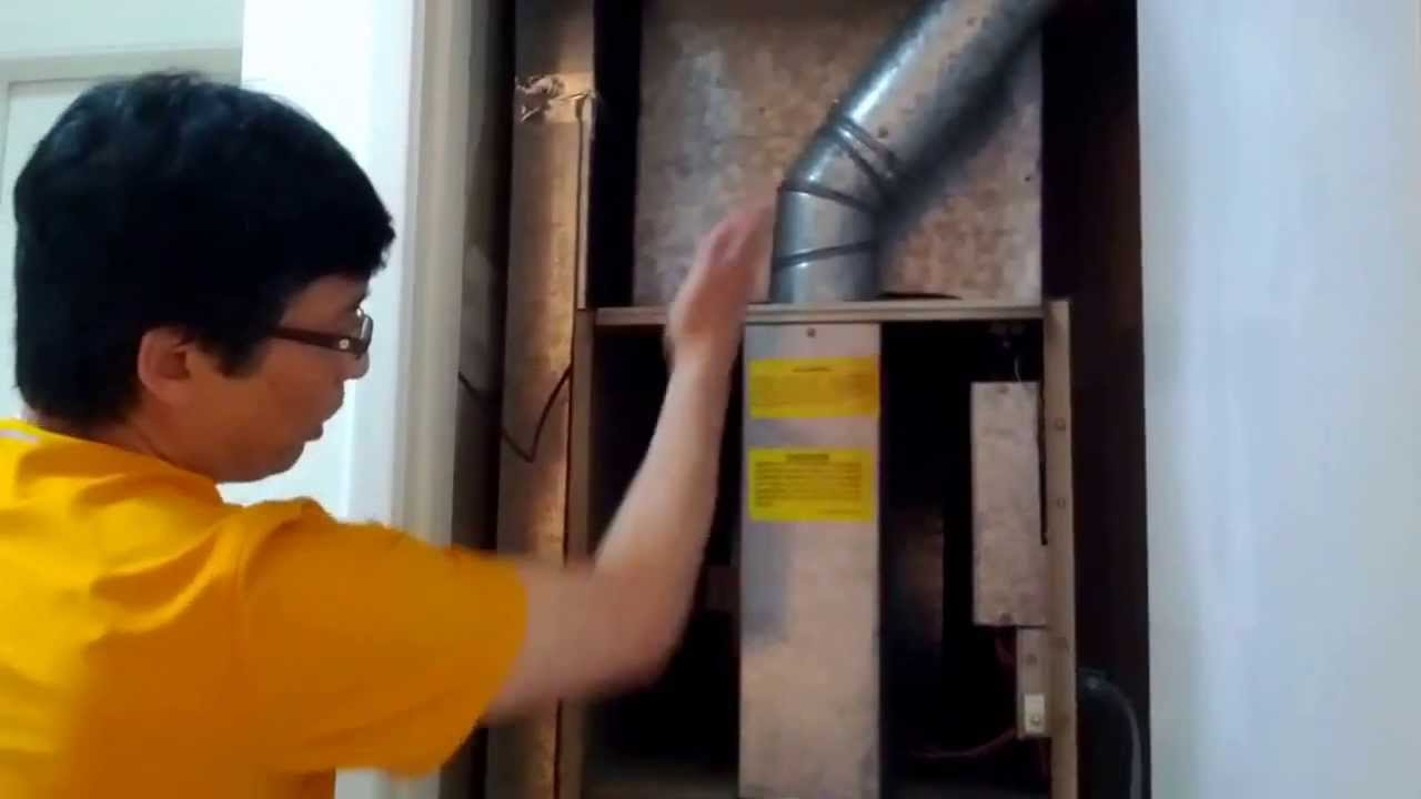 How To Change Your V Shaped Furnace Filters Model 396ga