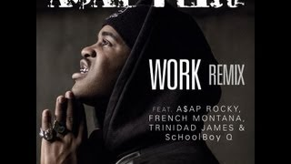 A$AP Ferg - Work REMIX Lyrics