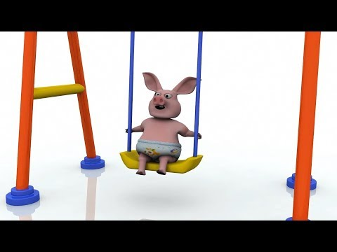 Thumbnail: Pig Baby Play Ferris & Swing Funny For Kids - Learning Video For Children - Colors For Kids