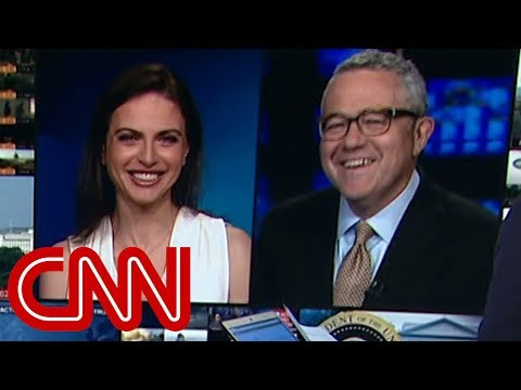 CNN's Jeffrey Toobin laughs off John Oliver's jab