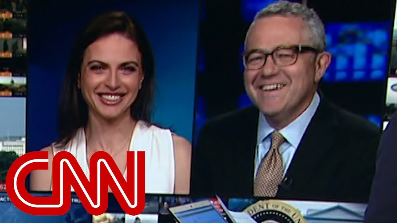 CNN's Jeffrey Toobin laughs off John Oliver's jab