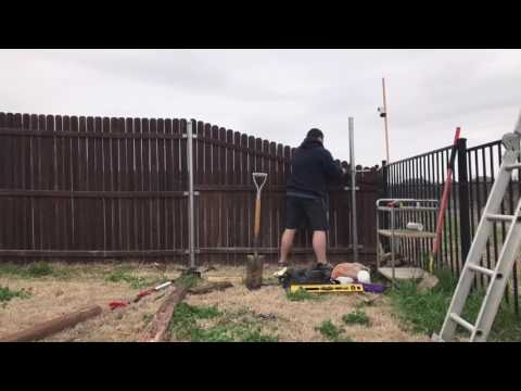 The Easiest Way to Install a Fence Post - No Concrete - Secure Set Foam