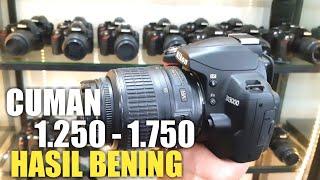 MURAH!! 7 Recomendasi Kamera DSLR Pemula Low Budget untuk Belajar Foto 2021 | Nikon D3000