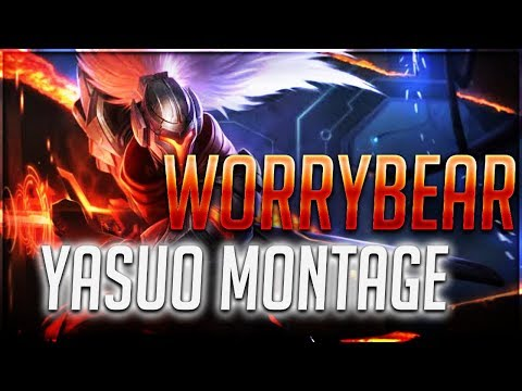 WorryBear Yasuo Montage - Best of Plays Yasuo PH 2019 ( League of Legends ) thumbnail