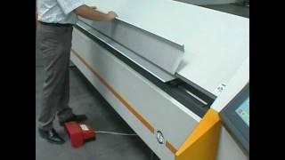 Ras Turbobend Schwenkbiegemaschine   Ras Turbobend Metal Folding Machine