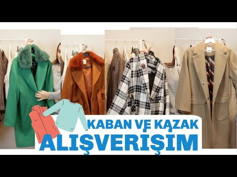 Kazak ve Kaban Alışverişi - KIŞ KOMBİNLERİ