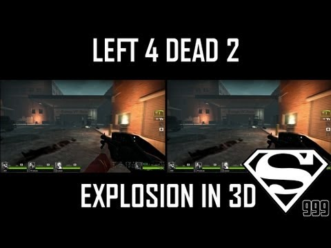 Left 4 Dead 2 - Youtube 3D Stereoscopic Video Test [HD] [3D]