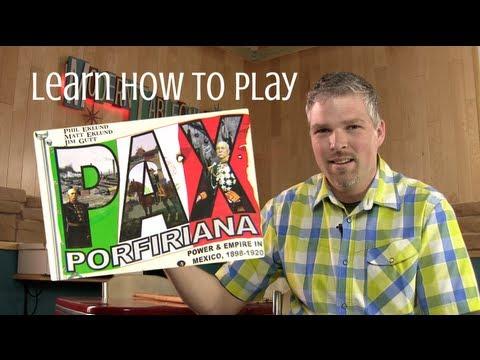 Pax Porfiriana Part 1 - How to play tutorial