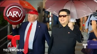 Trump y Kim Jong Un, su esperado encuentro en Singapur | Al Rojo Vivo | Telemundo