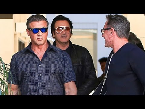Sylvester Stallone Is Super Cool In Beverly Hills
