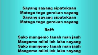 Lagu dan Tari Nusantara: SIPATOKAAN - Lagu Anak