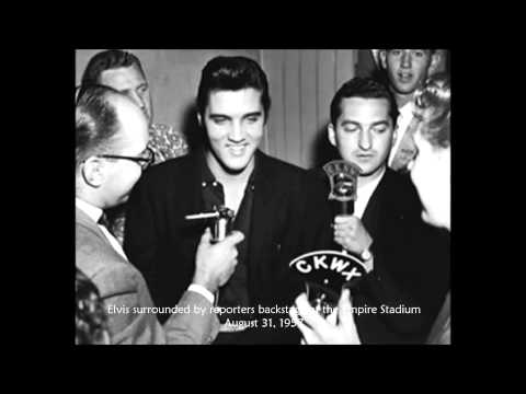 Elvis interview; August 31, 1957 - Vancouver, Canada