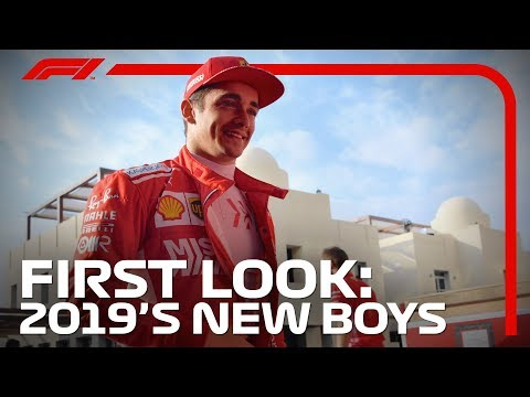 F1 2019 First Look: Drivers In New Cars And New Overalls In Abu Dhabi