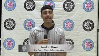 Jordan Rivas | Miami Referee Academy