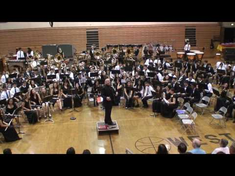 2016-06-10 WHEU West High School Spring Concert - Combined Bands