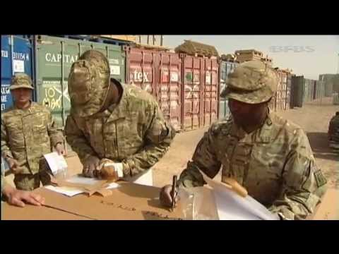UK's Military Kit Exiting Afghanistan 19.06.13